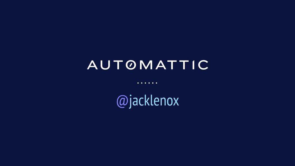 @jacklenox