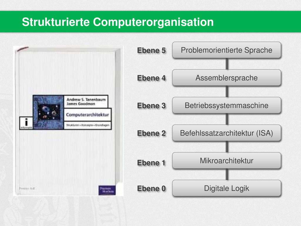 Strukturierte Computerorganisation Problemorien...