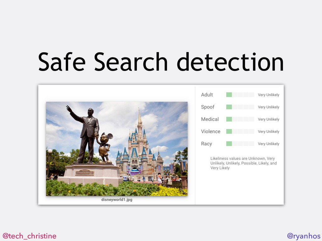 @tech_christine @ryanhos Safe Search detection