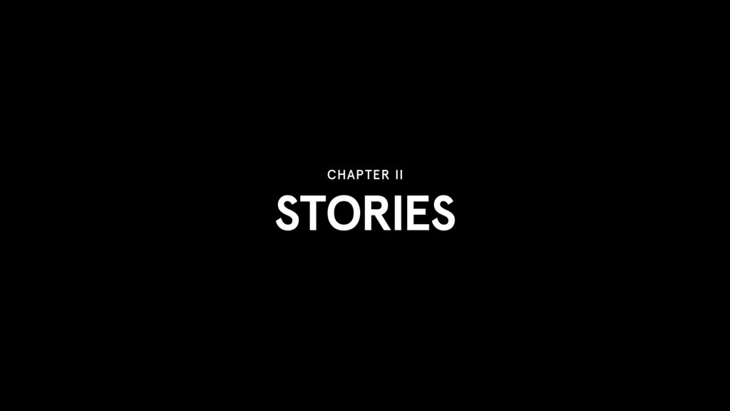 STORIES CHAPTER II
