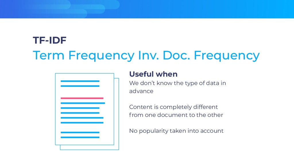 Useful when We don't know the type of data in a...