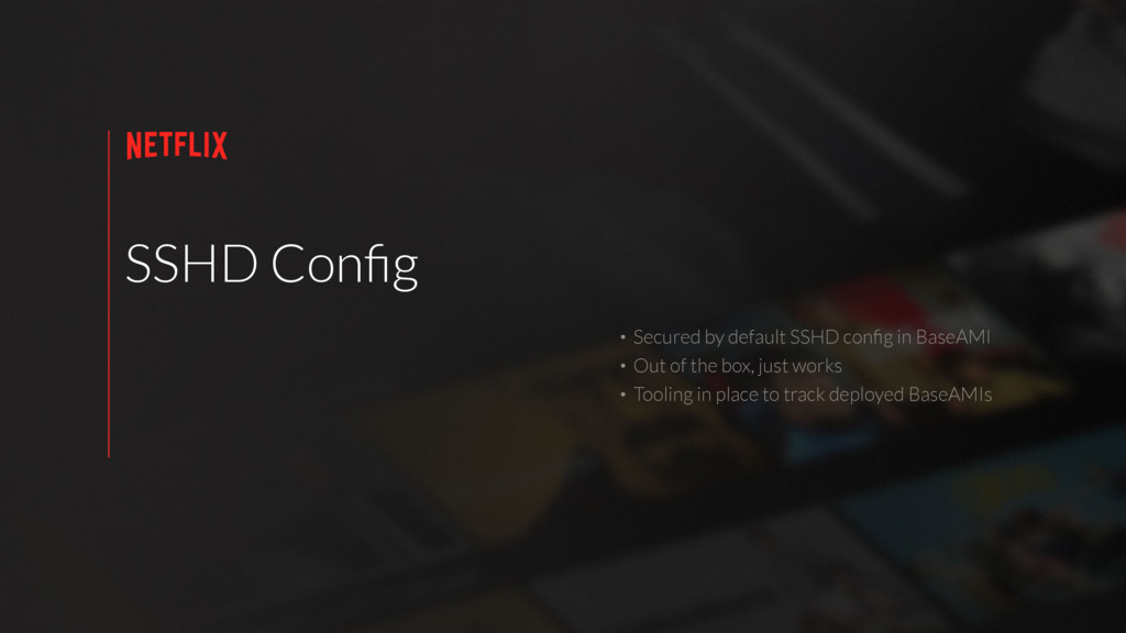 SSHD Config • Secured by default SSHD config in B...