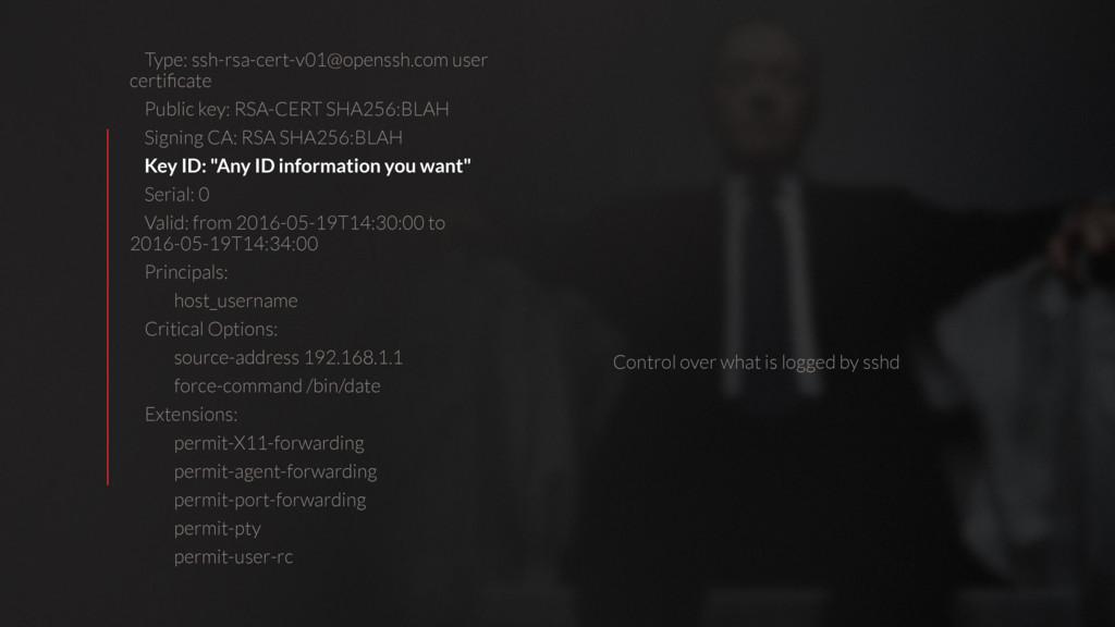 Type: ssh-rsa-cert-v01@openssh.com user certific...