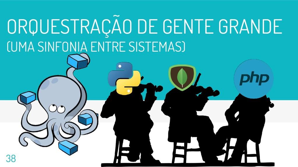 ORQUESTRAÇÃO DE GENTE GRANDE (UMA SINFONIA ENTR...
