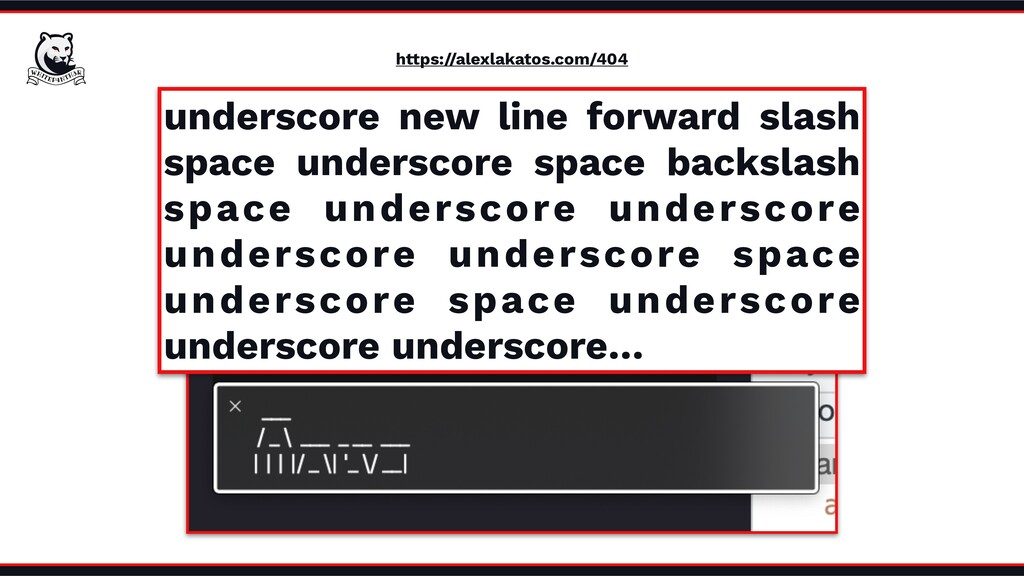 https://alexlakatos.com/404 underscore new line...