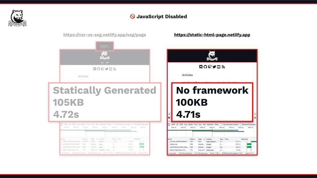 https://csr-vs-ssg.netlify.app/ssg/page 🚫 JavaS...