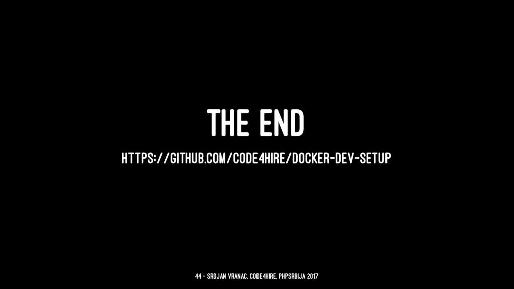 THE END HTTPS://GITHUB.COM/CODE4HIRE/DOCKER-DEV...