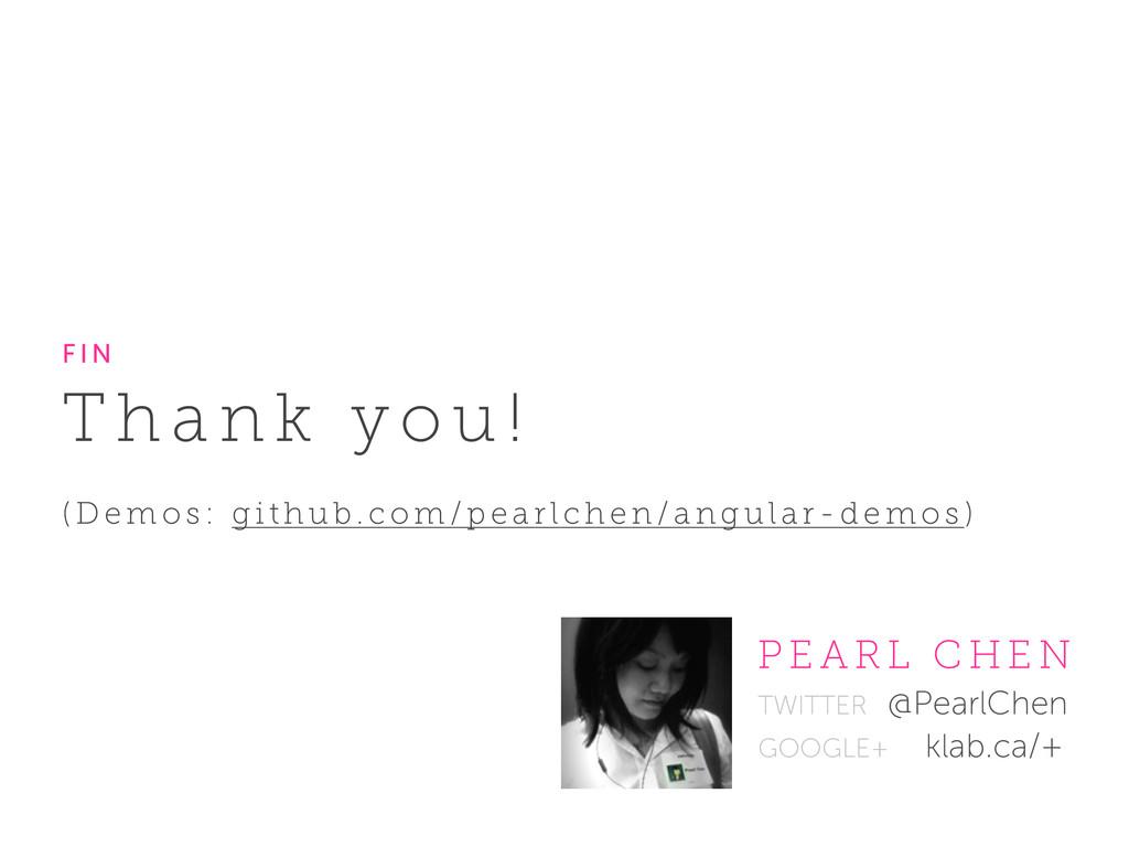 TWITTER @PearlChen GOOGLE+ klab.ca/+ P E A R L ...