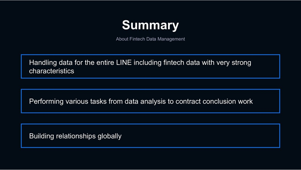 Summary About Fintech Data Management Handling ...