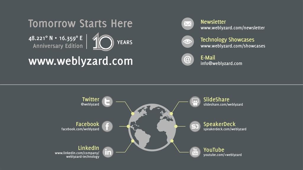 10 Newsletter www.weblyzard.com/newsletter Tech...