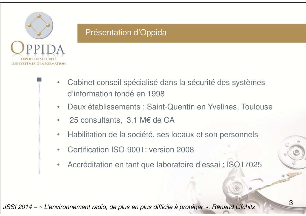 Présentation d'Oppida • Cabinet conseil spécial...