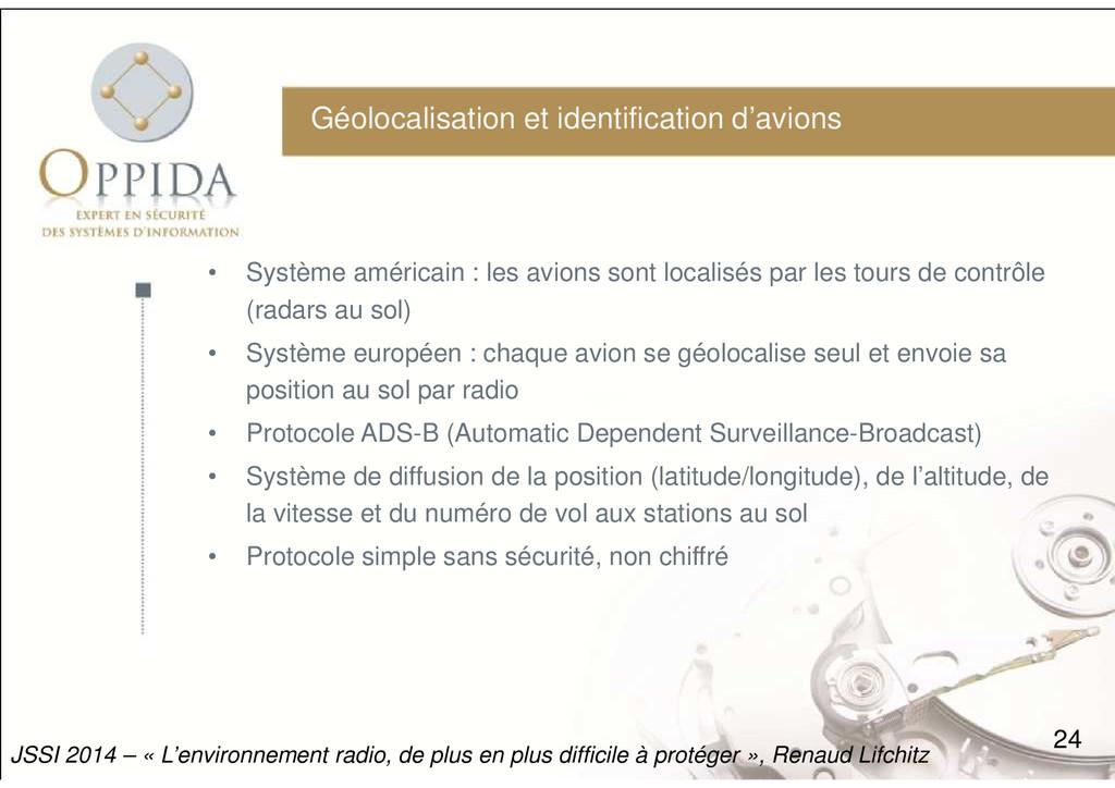 Géolocalisation et identification d'avions • Sy...