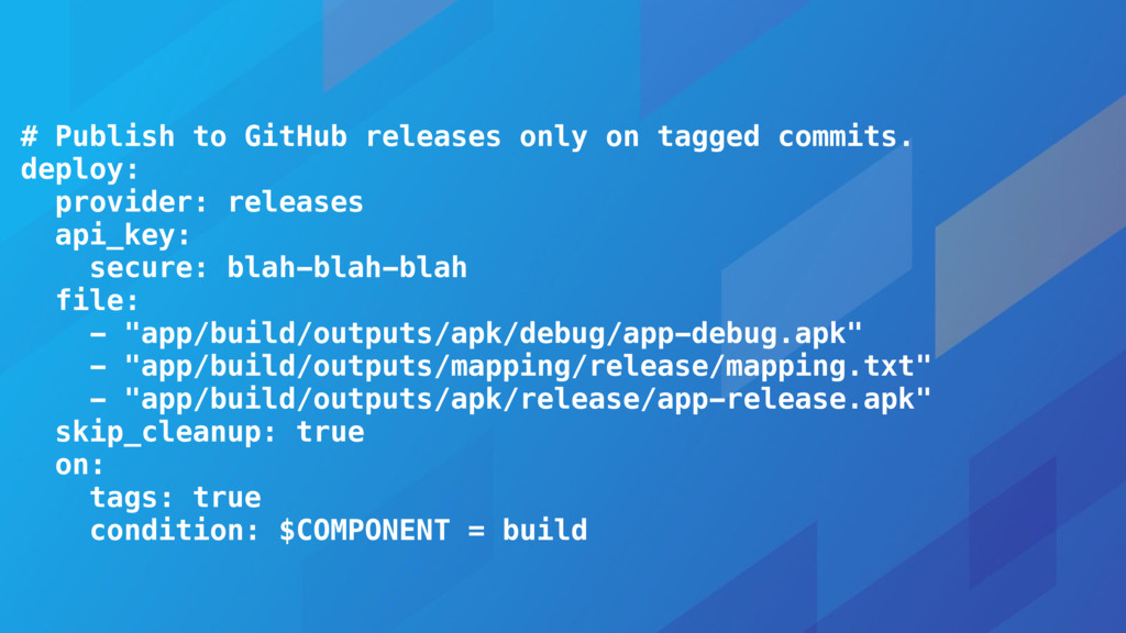 # Publish to GitHub releases only on tagged com...