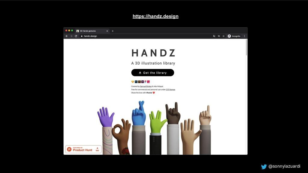 @sonnylazuardi https://handz.design