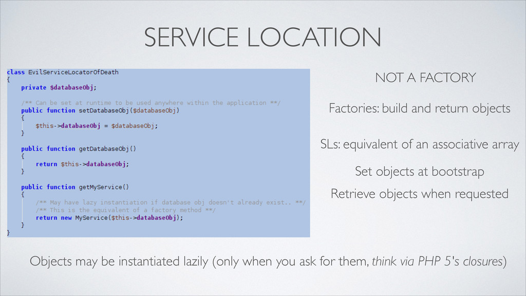 SERVICE LOCATION NOT A FACTORY Factories: build...