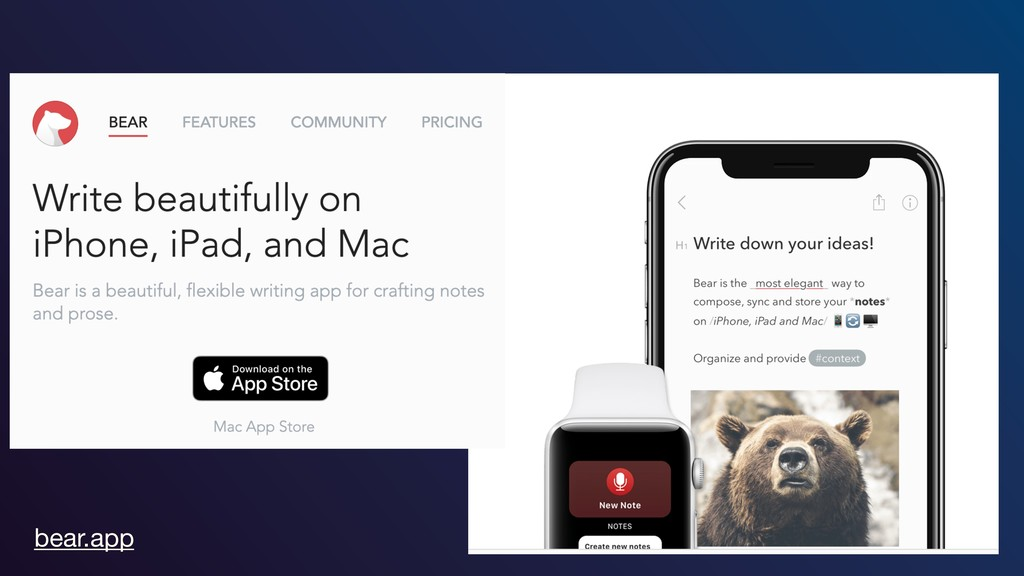 bear.app