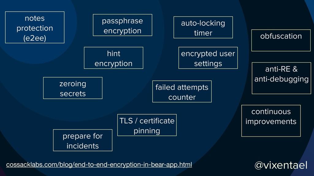 @vixentael passphrase encryption hint encryptio...