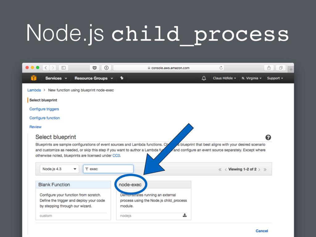Node.js child_process