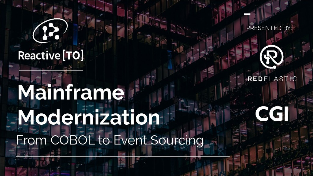 Mainframe Modernization From COBOL to Event Sou...