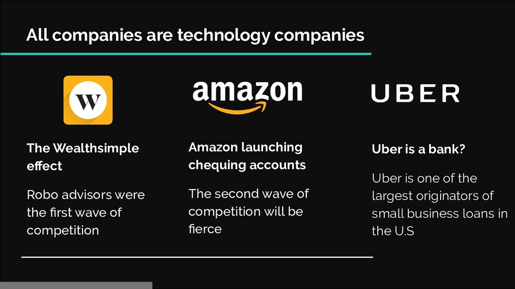 All companies are technology companies The Weal...