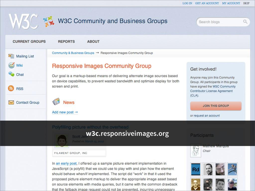 w3c.responsiveimages.org