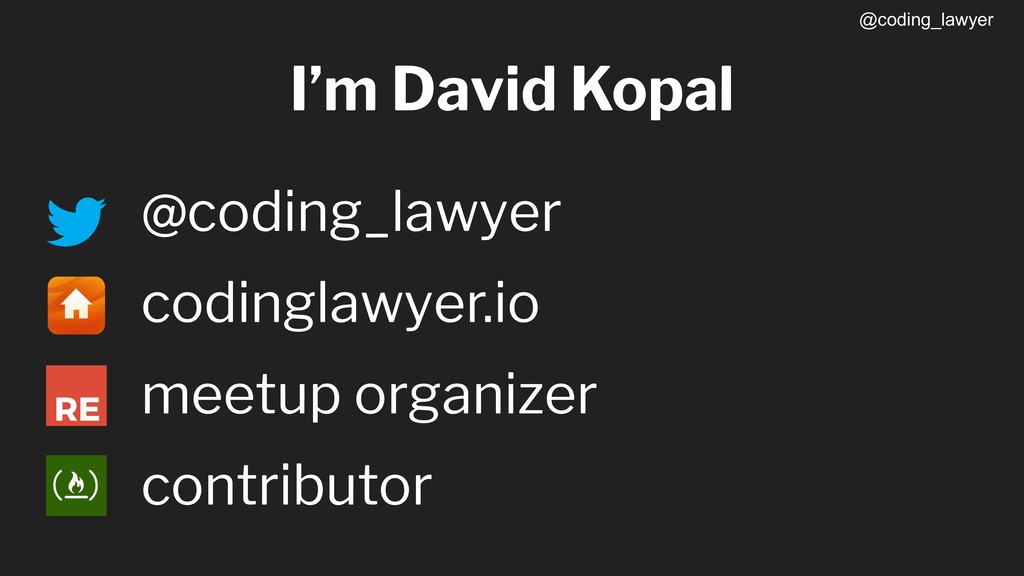 @coding_lawyer @coding_lawyer codinglawyer.io m...