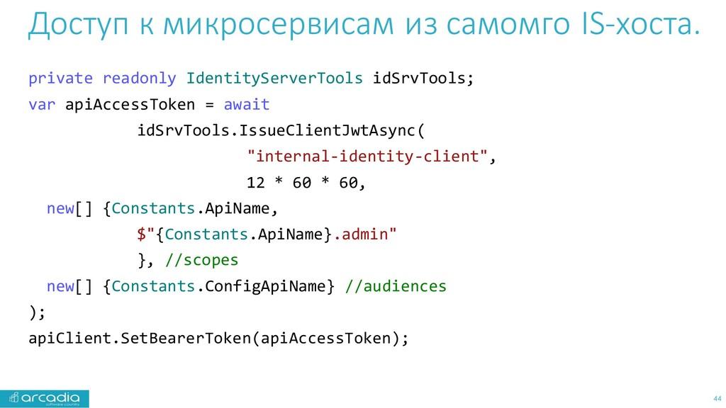 Доступ к микросервисам из самомго IS-хоста. pri...