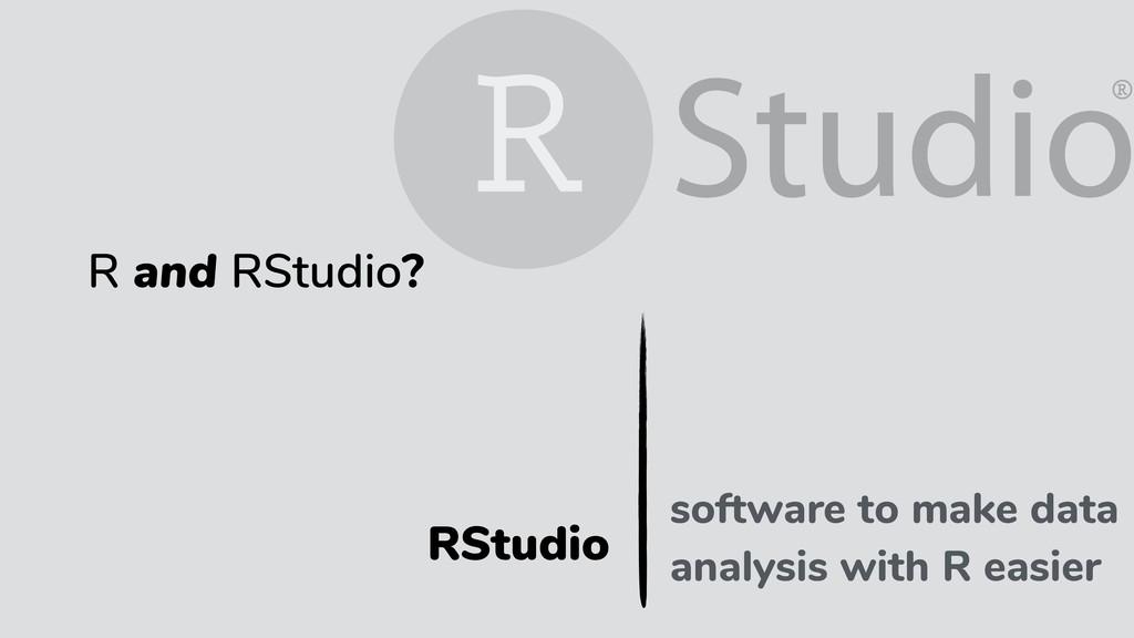 RStudio programming language R and RStudio? sof...