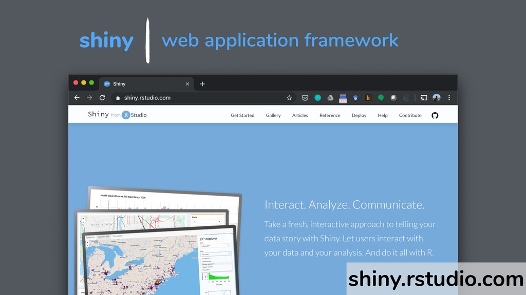 shiny web application framework shiny.rstudio.c...
