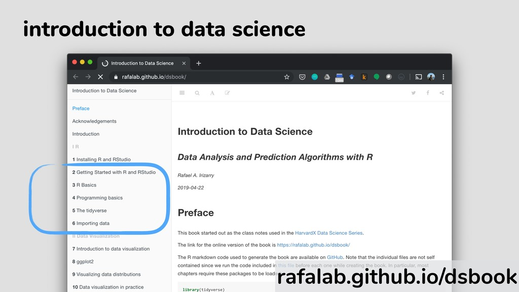 introduction to data science rafalab.github.io/...