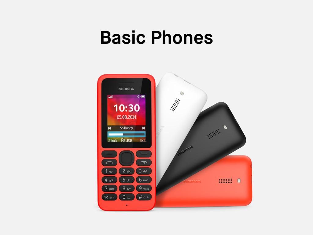 Basic Phones