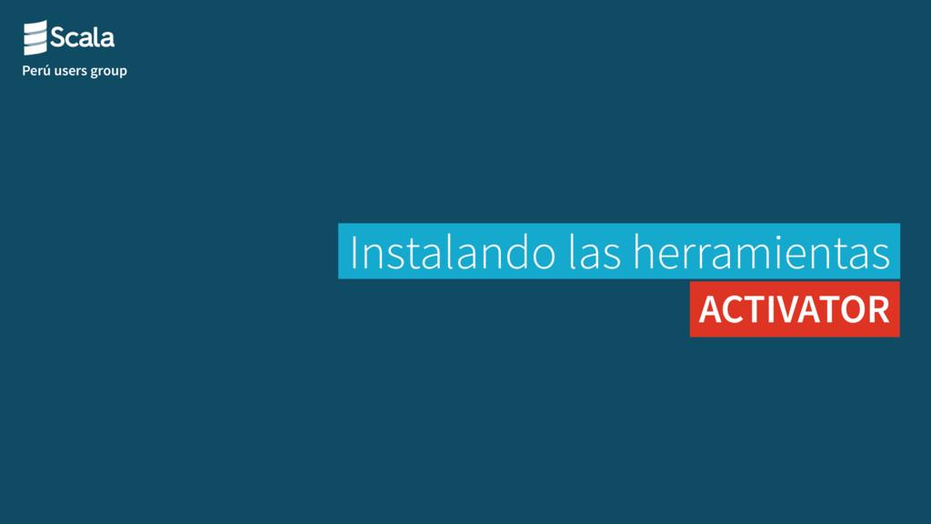 Perú users group Instalando las herramientas AC...