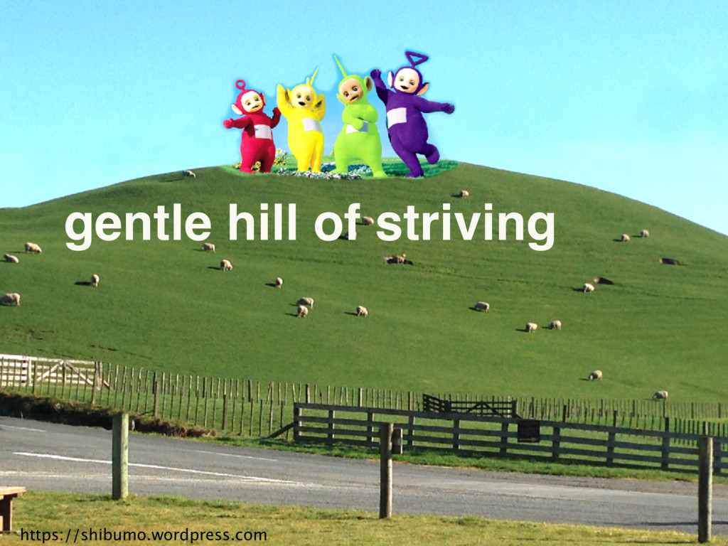 https://shibumo.wordpress.com gentle hill of st...
