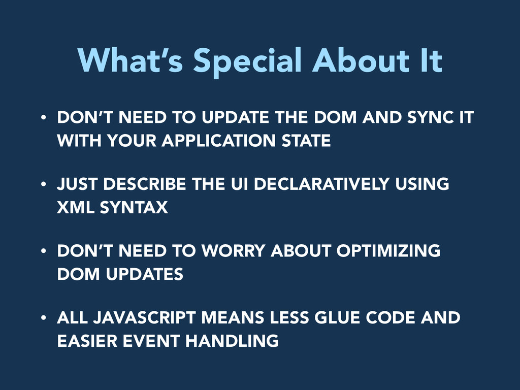What's Special About It • DON'T NEED TO UPDATE ...
