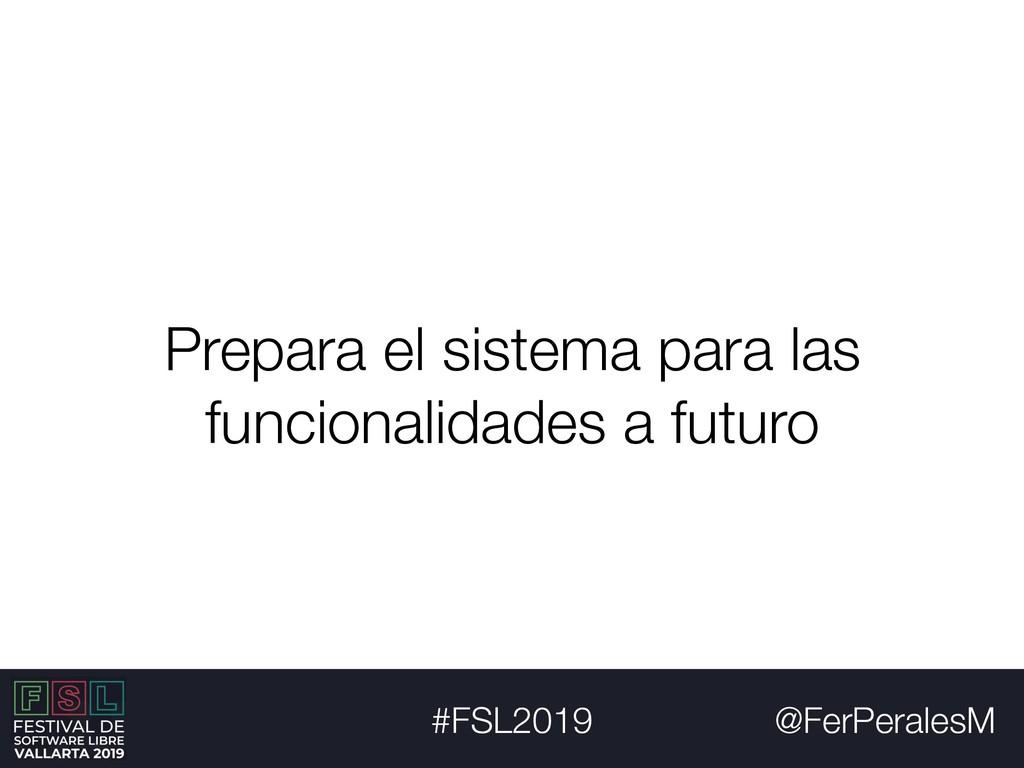 @FerPeralesM #FSL2019 Prepara el sistema para l...