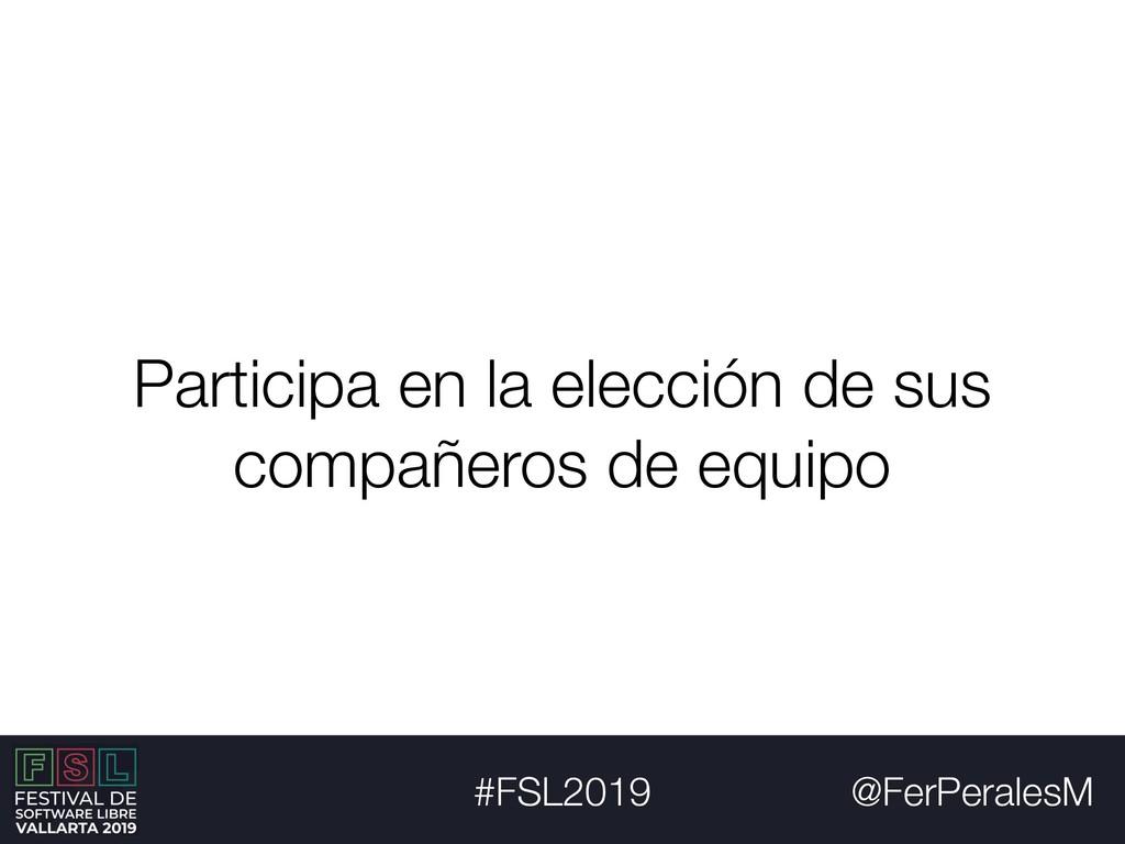 @FerPeralesM #FSL2019 Participa en la elección ...