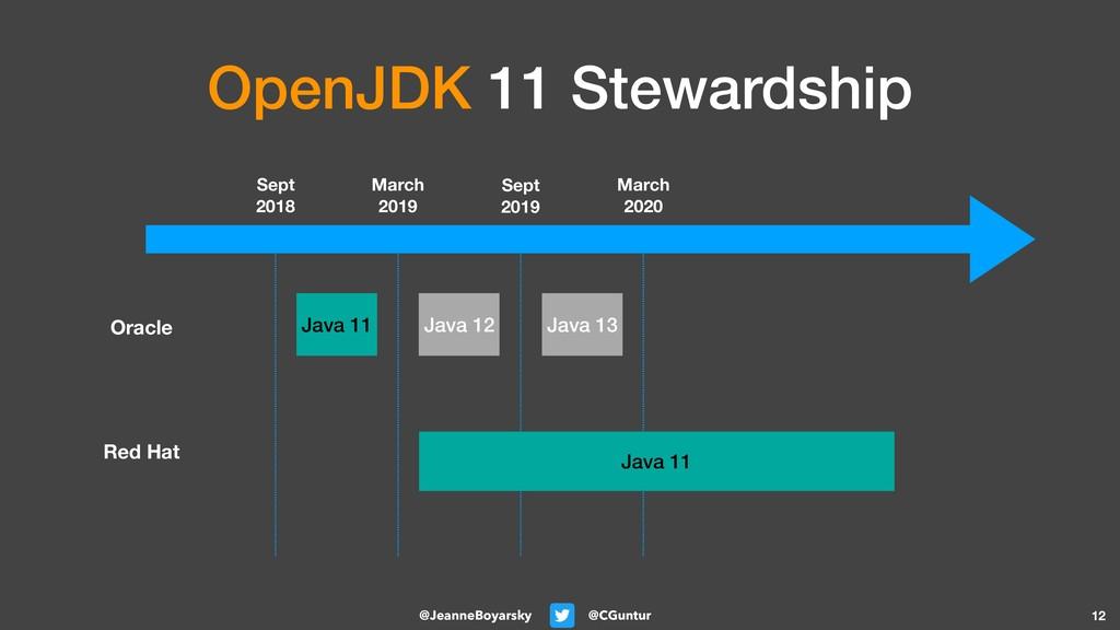 @CGuntur @JeanneBoyarsky OpenJDK 11 Stewardship...