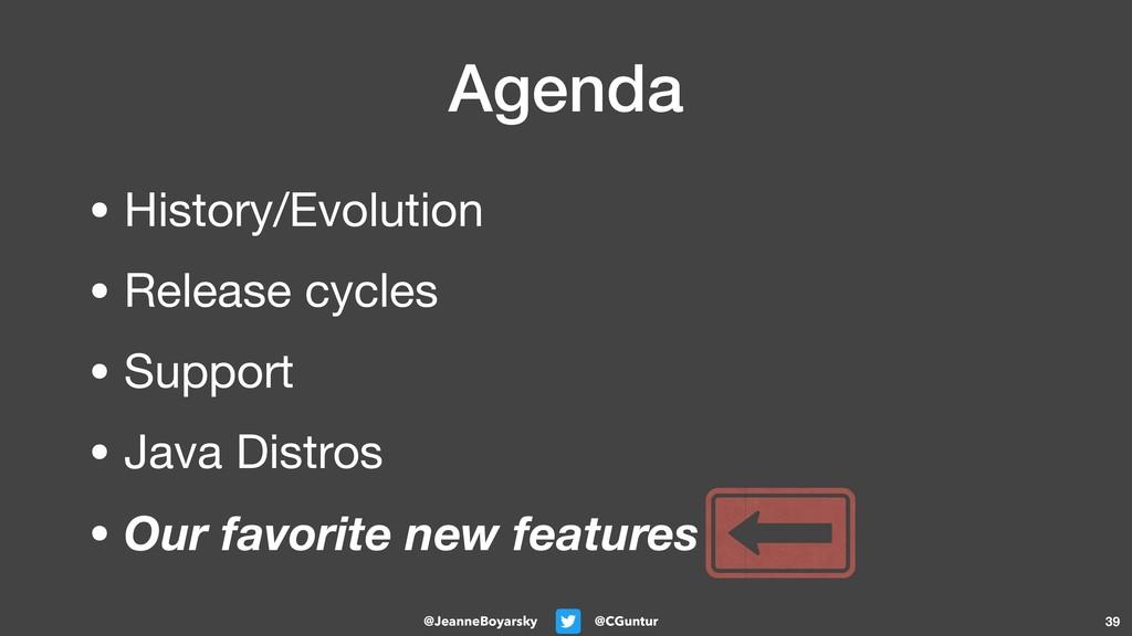 @CGuntur @JeanneBoyarsky Agenda • History/Evolu...