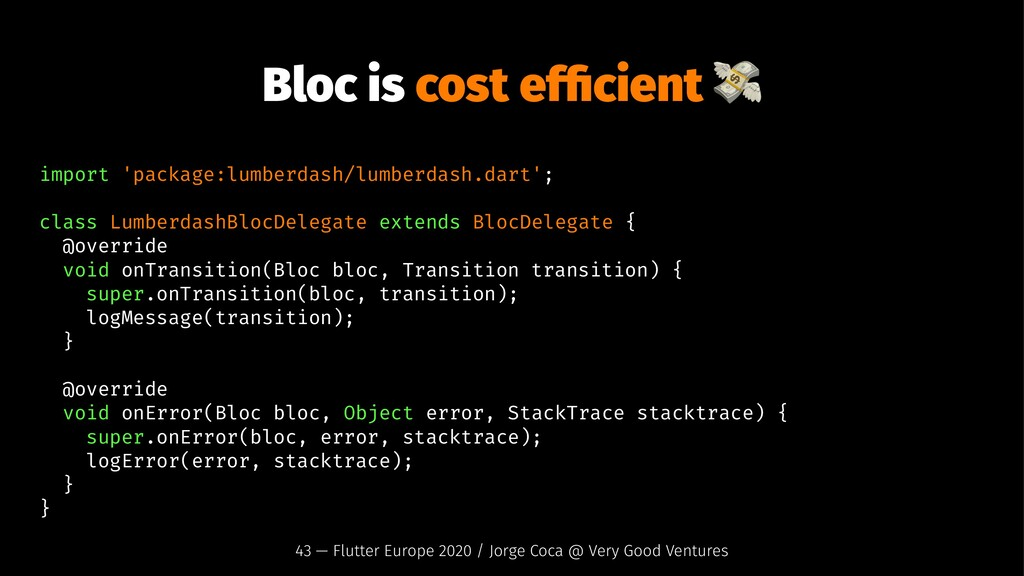 Bloc is cost efficient import 'package:lumberdas...
