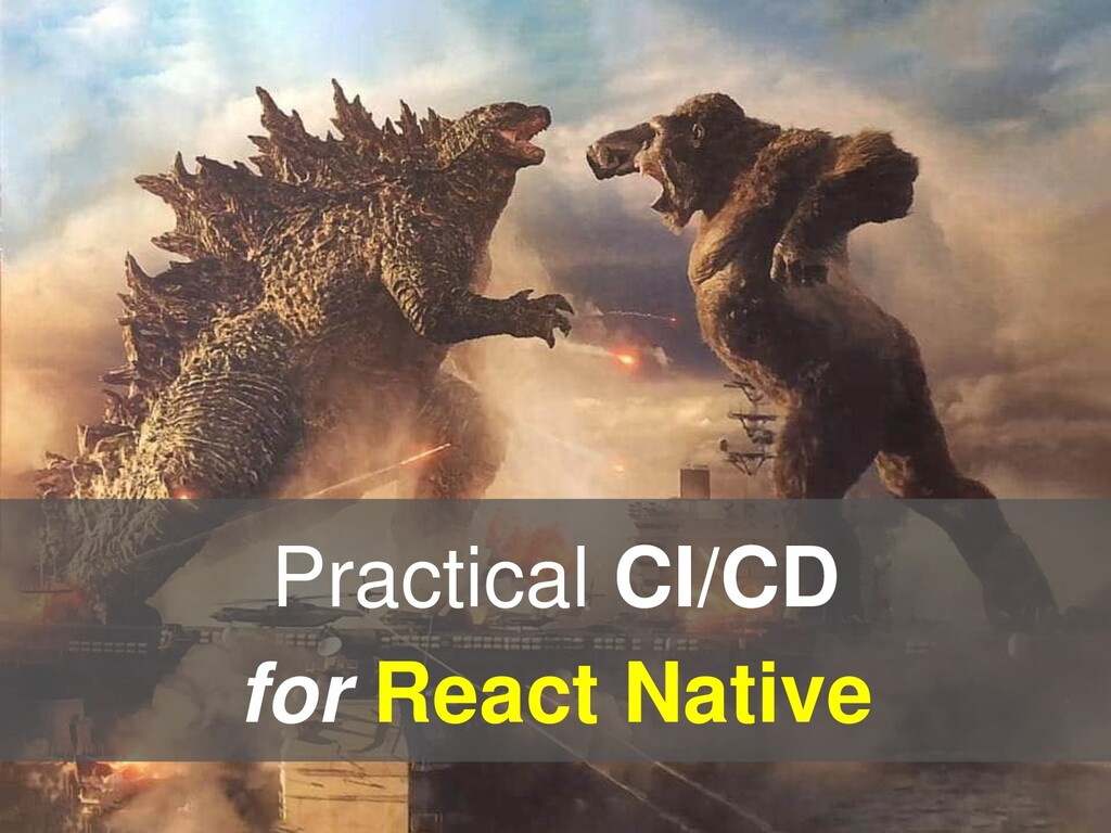 Practical CI/CD for React Native