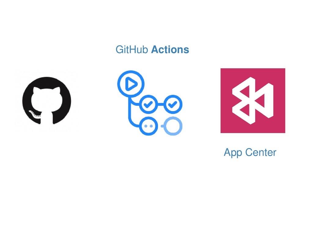 App Center GitHub Actions