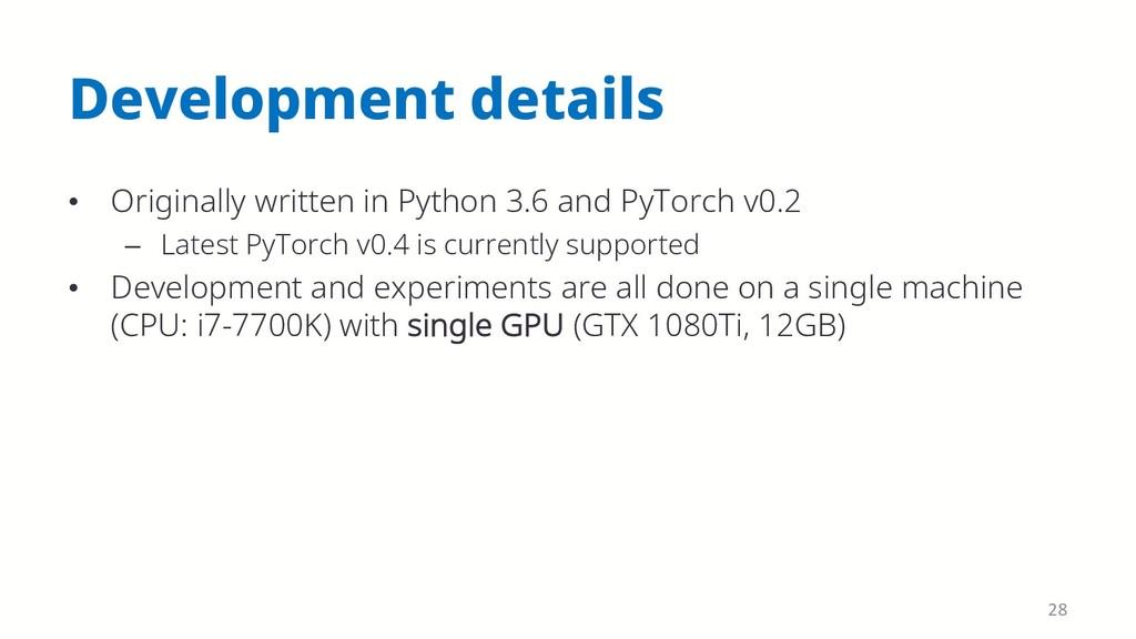 Development details • Originally written in Pyt...