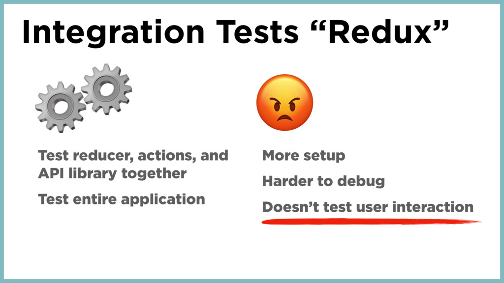 "Integration Tests ""Redux"" ⚙ Test reducer, actio..."