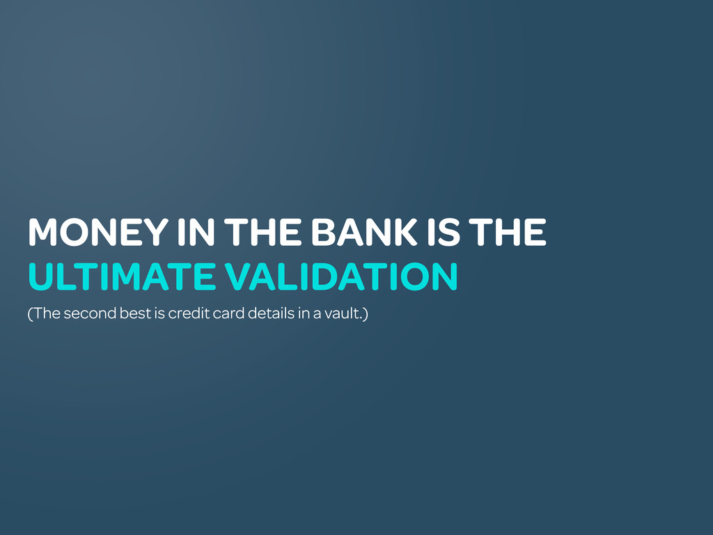 MONEY IN THE BANK IS THE ULTIMATE VALIDATION (T...