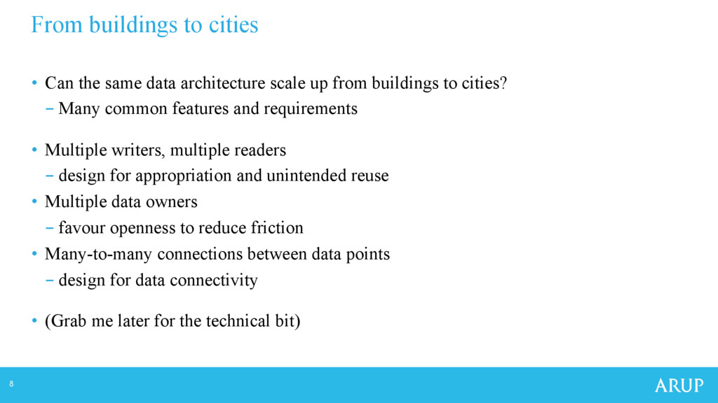 8 • Can the same data architecture scale up fr...