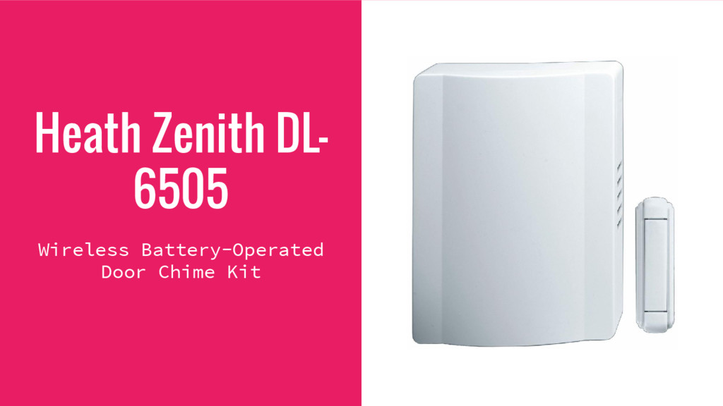 Heath Zenith DL- 6505 Wireless Battery-Operated...