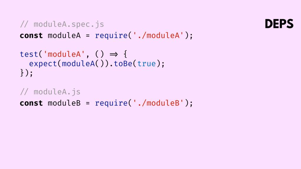 // moduleA.spec.js const moduleA = require('./m...