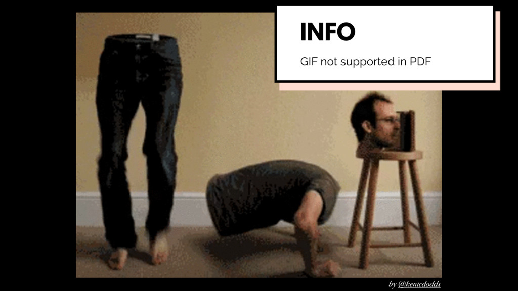 by @kentcdodds GIF not supported in PDF INFO