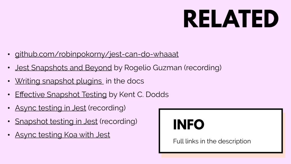 RELATED • github.com/robinpokorny/jest-can-do-w...