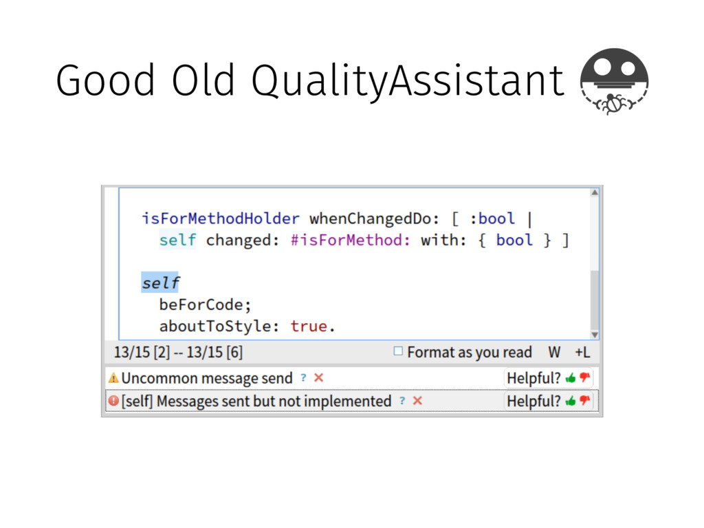 Good Old QualityAssistant
